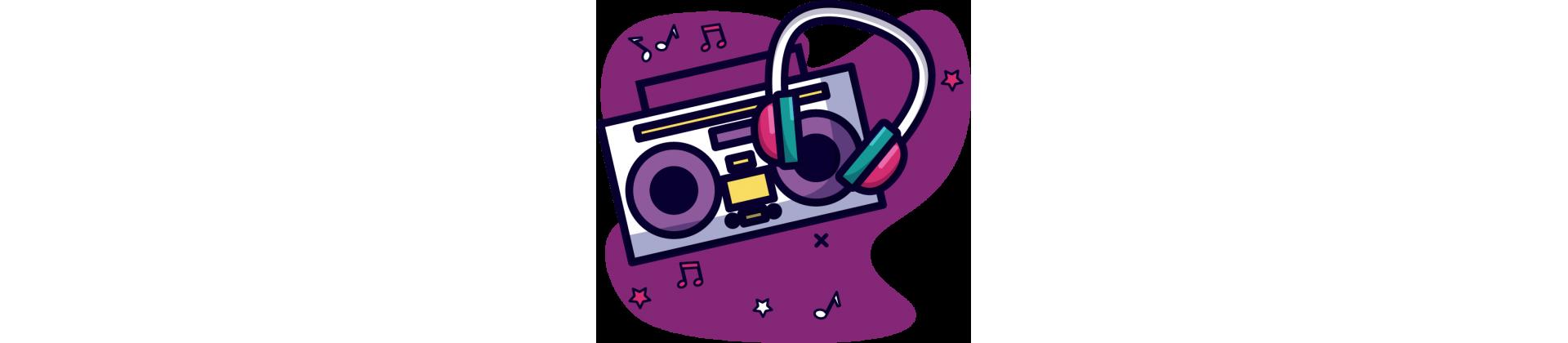 Audio et objets électroniques